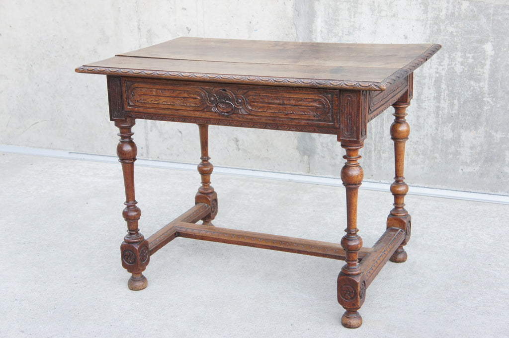 Louis XIII Style Writing Desk Console Table