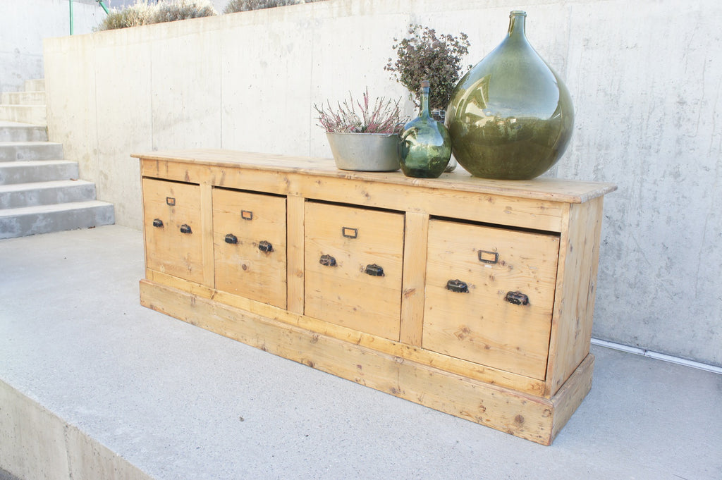 French Silk Bobbin Sideboard Drawers