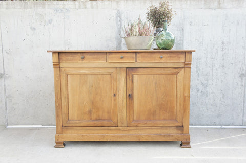 19th Century Walnut Wood Side Board / Cupboard