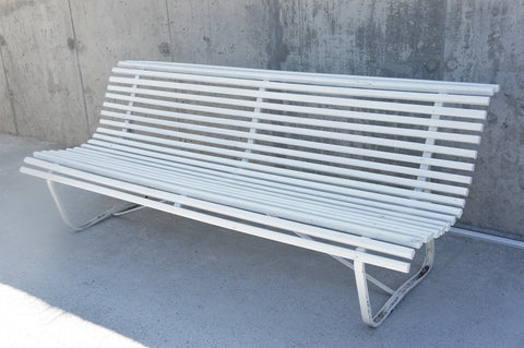 White 'Parisian' Garden Bench