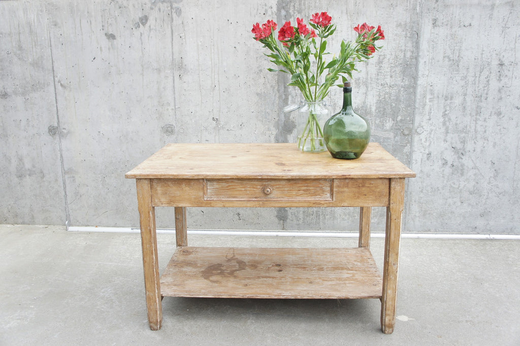 Rustic Kitchen Table / Island / Console Table / Work Bench