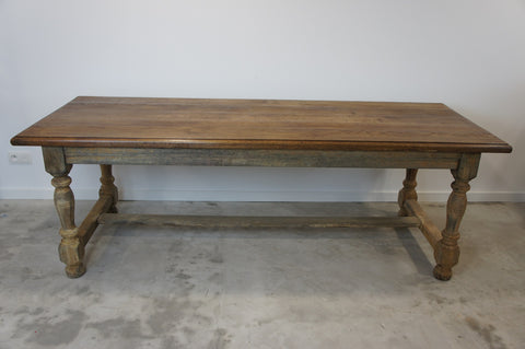 2.2m OakFarmhouse Table