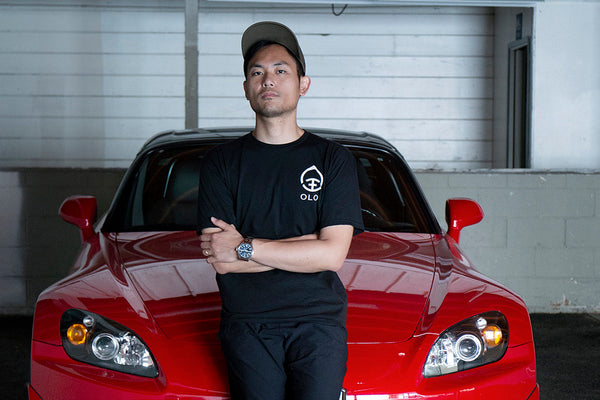 Oloi Founder Thomas Lee and His Honda S2000