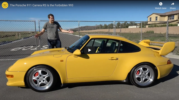 Doug DeMuro Reviews Oloi's Porsche 911 Carrera RS