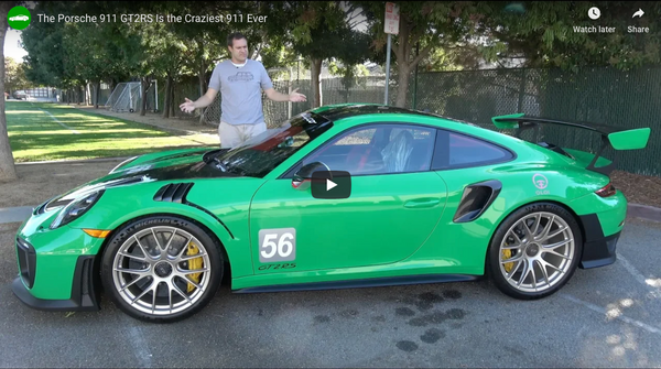 Doug DeMuro Reviews Oloi's Porsche 911 GT2RS