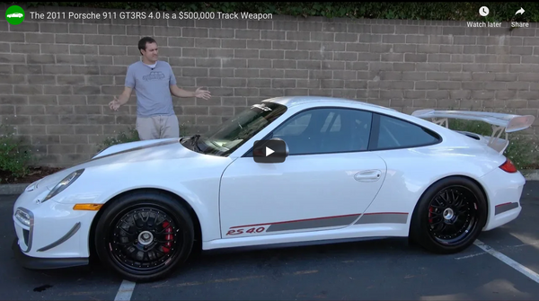 Doug DeMuro Reviews Oloi's Porsche 911 GT3RS 4.0