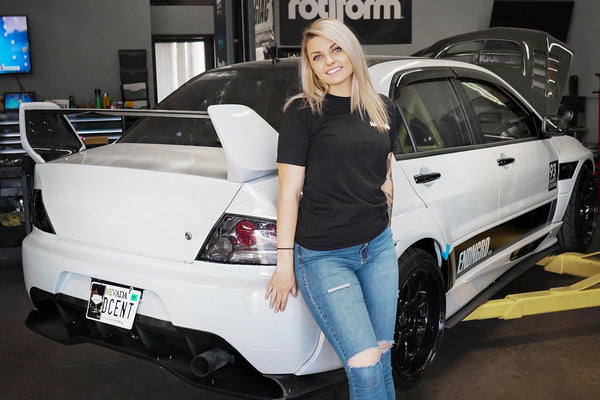 Madison Miklancic's 2005 Mitsubishi Lancer Evolution VIII