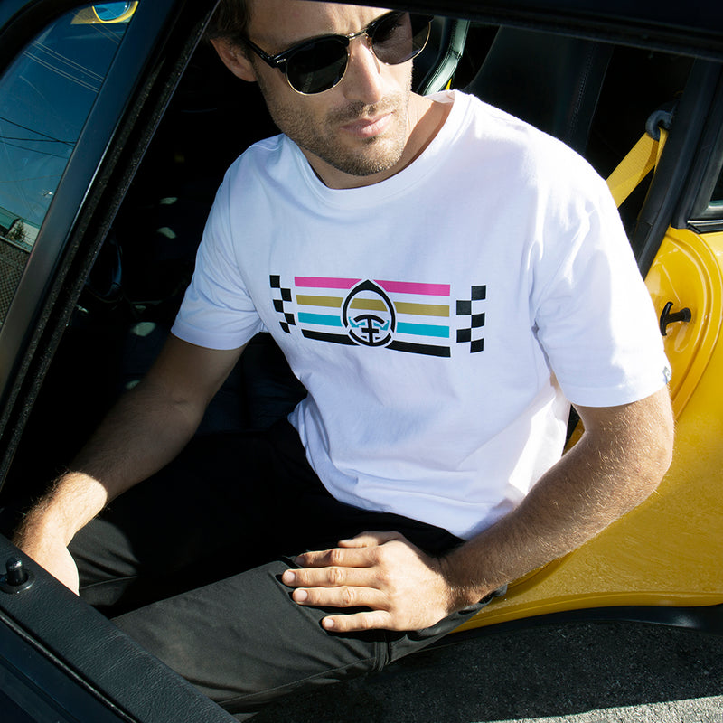 Racing Stripe Tee