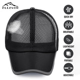 ELLEWIN Baseball Cap With Removable Protective Face Shield Cover for Men Women