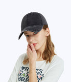 Vintage Baseball Cap Distressed Ripped Washed Cotton Dad Hat