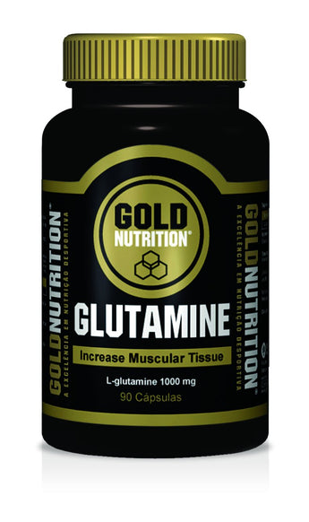Gold Nutrition Glutamina 1000mg 90 Cápsulas