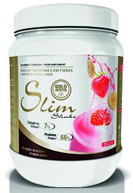 Gold Nutrition Slim Shake Morango Banana 400g