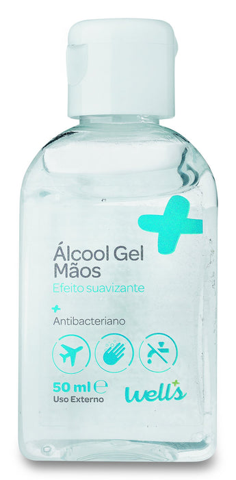 Álcool Gel Wells 50ml