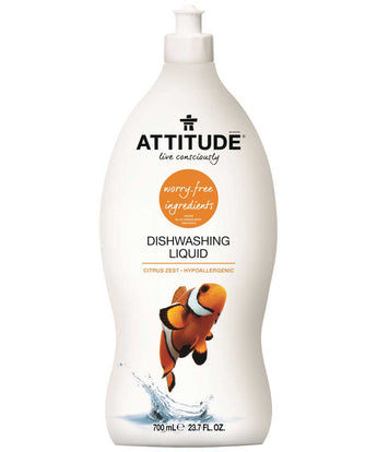Detergente Loiça Manual ECO Citrinos Attitude 700ml