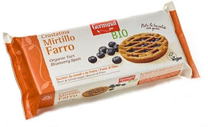 Tarte Integral Mirtilo Germinal BIO 4x50gr