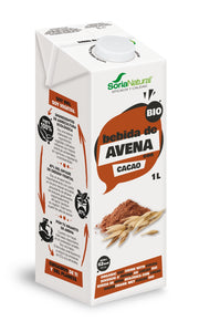Bebida De Aveia Com Chocolate Soria Natural 1L