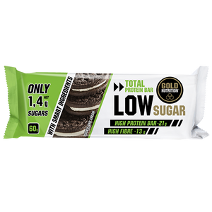 Gold Nutrition Protein Bar Low Sugar Cook