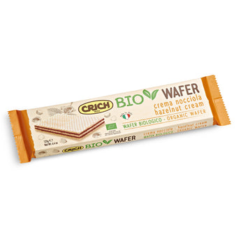Wafer de Avelã BIO Crinch 125gr
