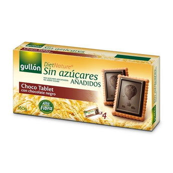 Bolachas Choco Tablet Diet Nature 150g Gullon