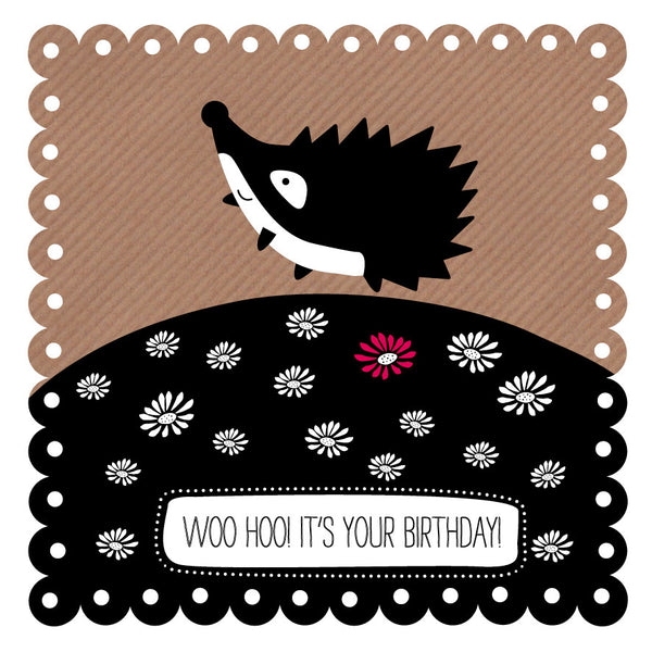 Woo Hoo! Birthday Hedgehog