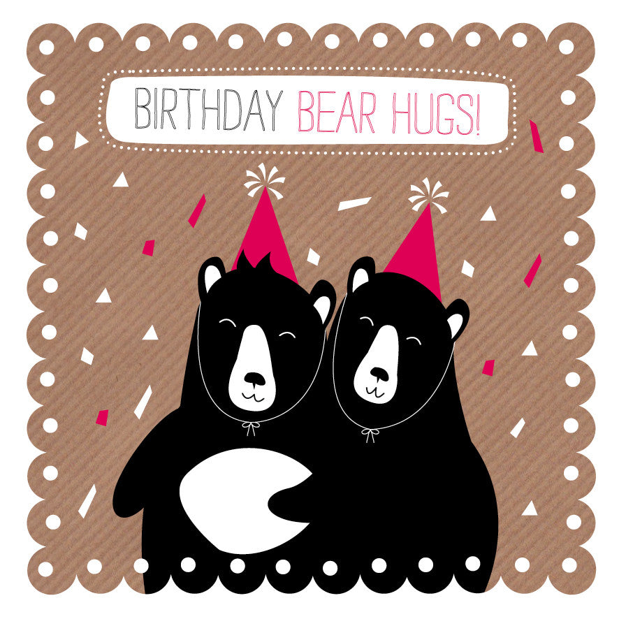 Birthday Bear Hug