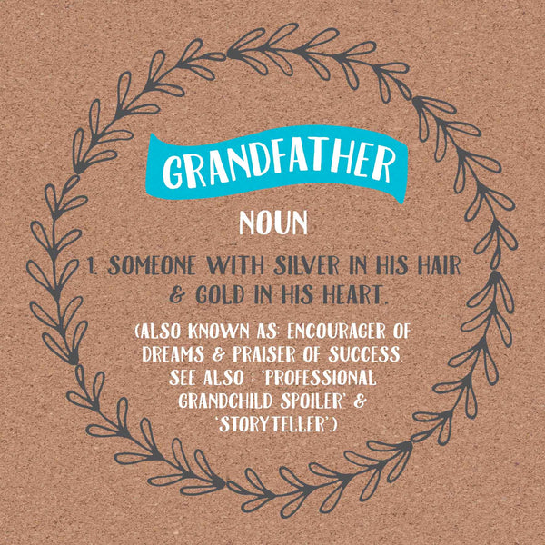 Grandfather Definition Card