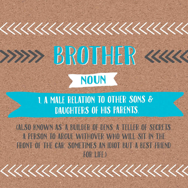 Brother Definition Card