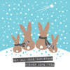 Rabbit Family Christmas Wishes