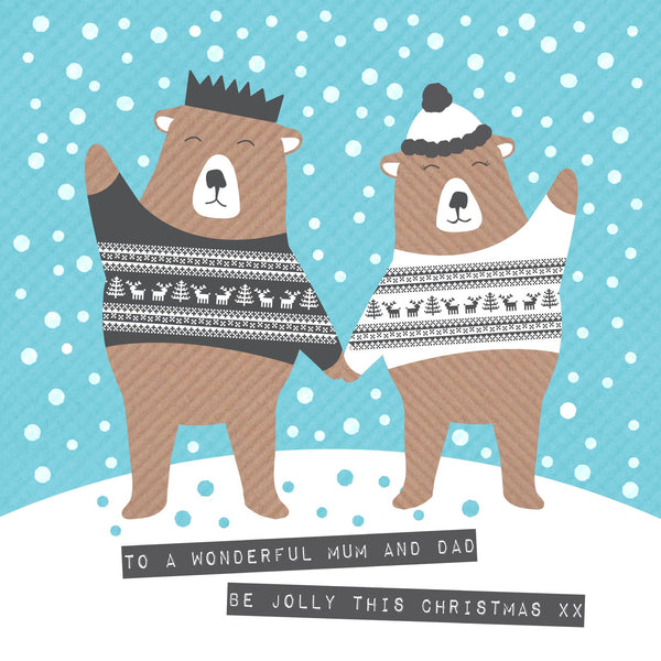 Jolly Mum And Dad Bears
