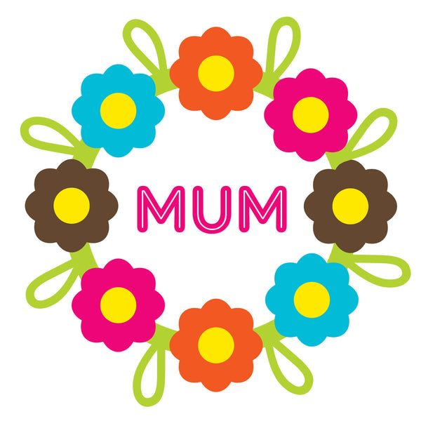 Mum Daisy Chain Card