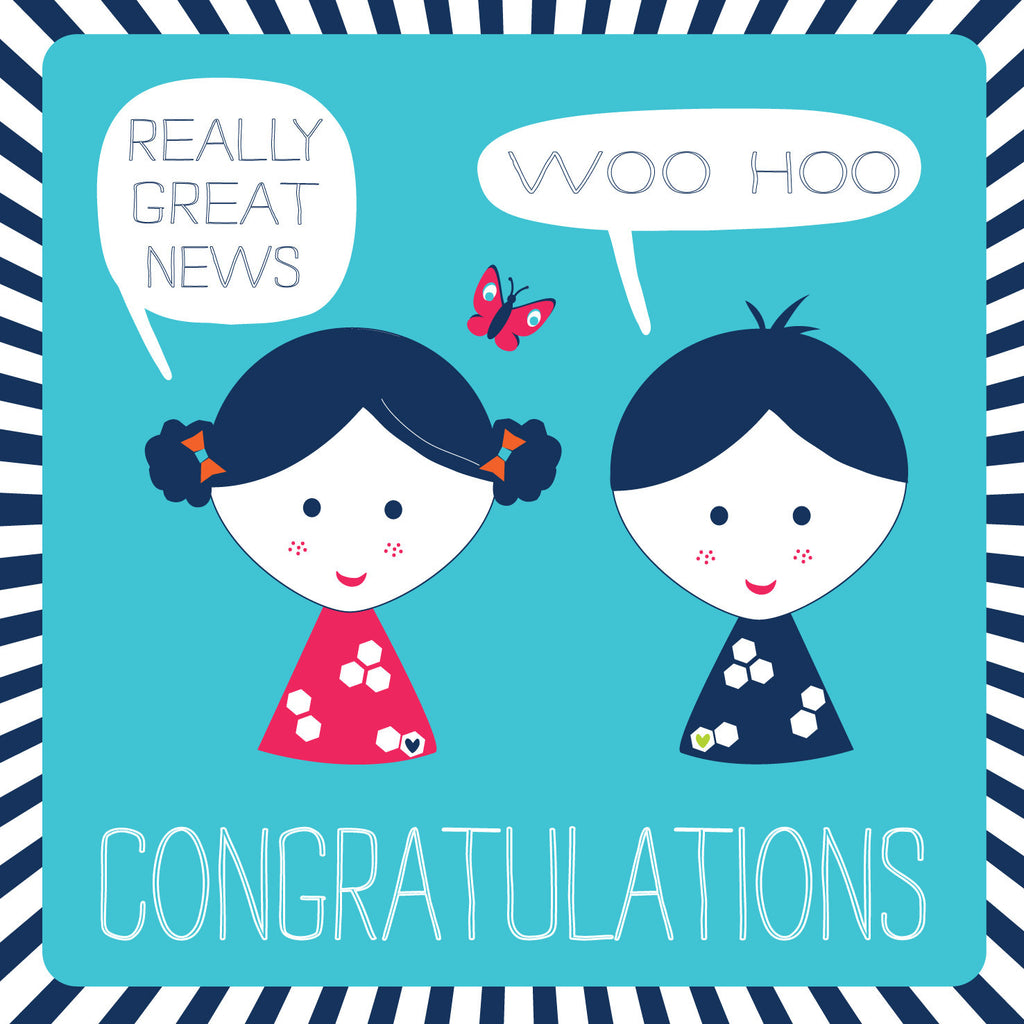 Congratulations Freckles Card
