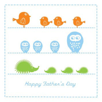 Faraway Tree Father's Day Card