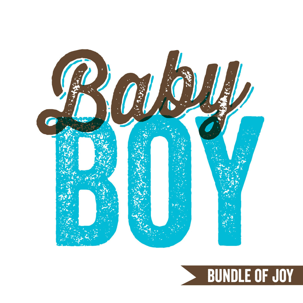 Baby Boy Bundle Of Joy