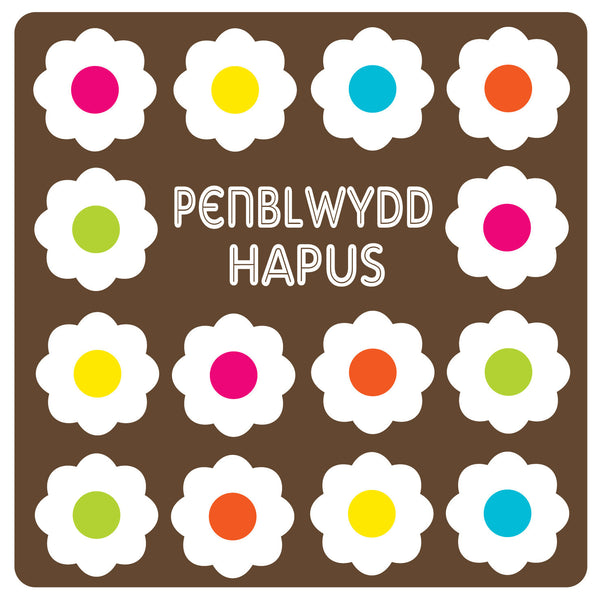 Welsh Language Happy Birthday Daisy Card