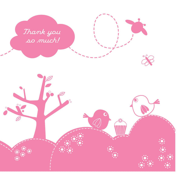 Tweet Thanks Card