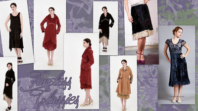Velvet Dresses and Coats: Timeless Classics