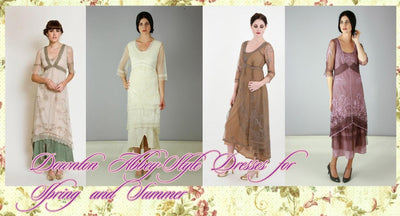 Downton Abbey-Style Dresses for Spring and Summer