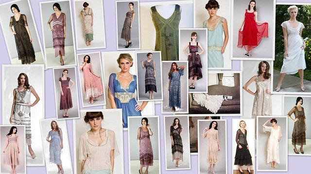 Downton Abbey inspired dresses