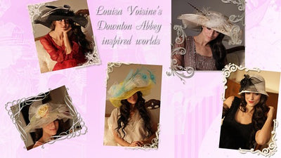 Downton Abbey inspired Worlds by Louisa Voisine Millinery