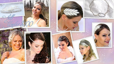 Vintage style head pieces under $100