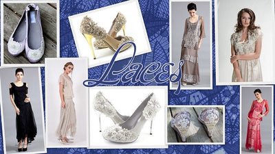 Lace and Vintage! Find all lace styles at wardrobeshop.com