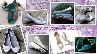 Dress Your Best as a Pregnant Bride. Shoes
