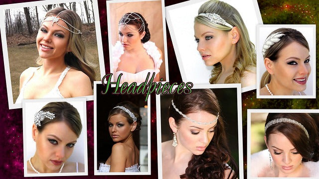 Styles for Short Haired Brides