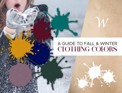 A Guide to Fall & Winter Clothing Colors