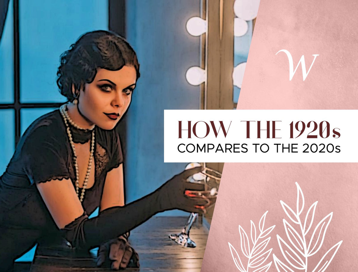 1920s vs 2020s fashion