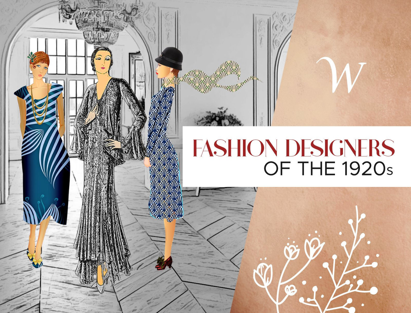1920s Fashion Designers Wardrobeshop Fashion Blog