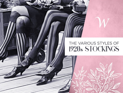 The Various Styles of 1920s Stockings