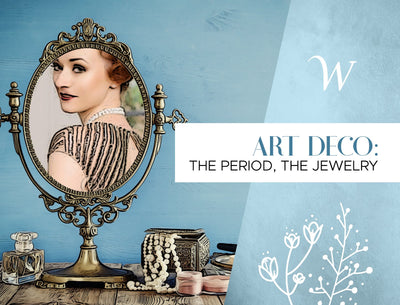 Art Deco: The Period, The Jewelry