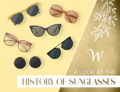 A Look At The History of Sunglasses
