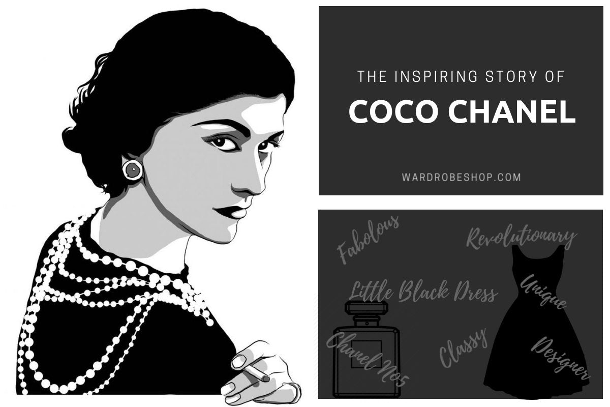 The Inspiring Coco Chanel Story Wardrobeshop Fashion Blog